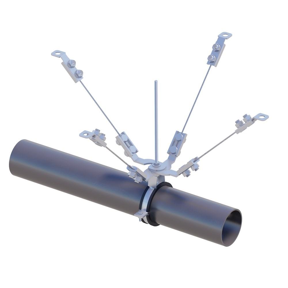 Seismic Cable Braces | SISMEX - 1