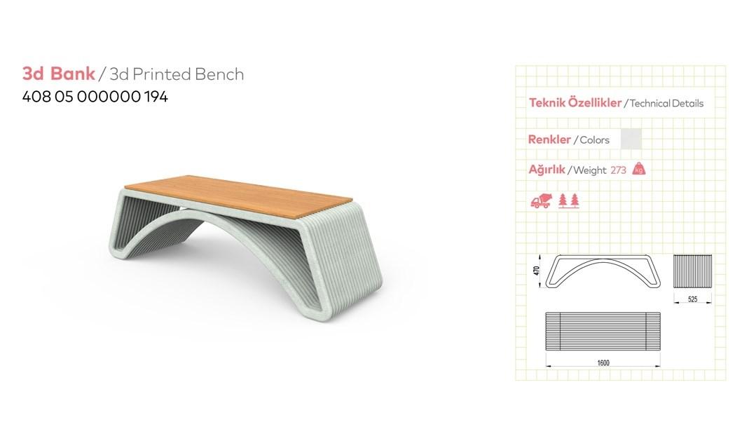 3D Street Furnitures - 1