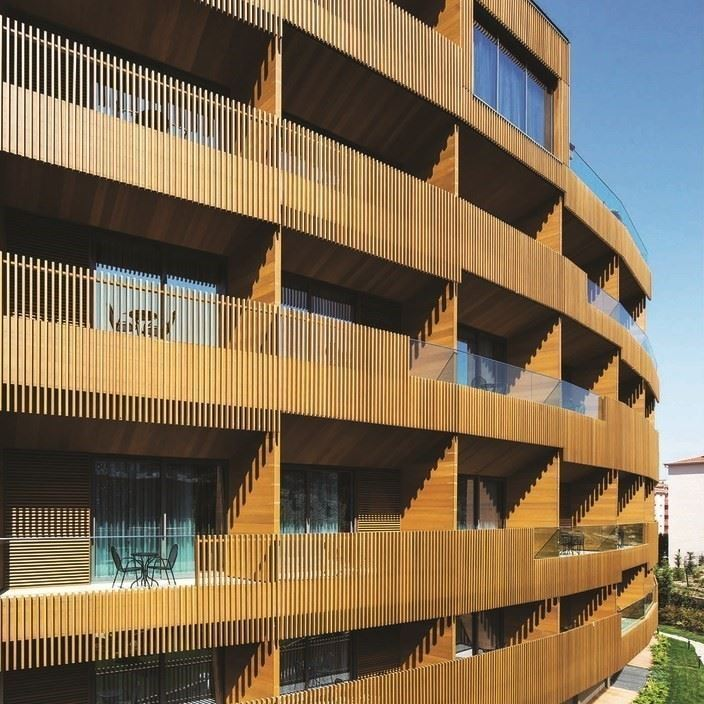 Technowood Profile Facade Systems