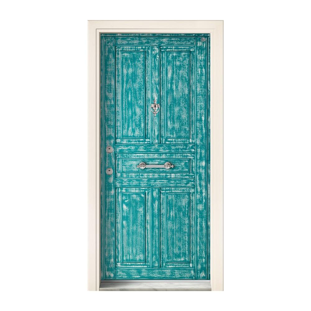 Steel Door | Kale Vira Green