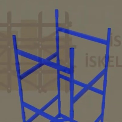 Is-Ka Stacking Tower Scaffold System