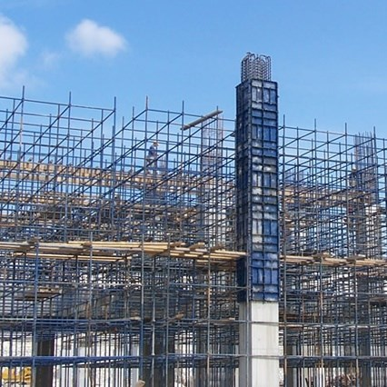 Cup Formwork and Facade Scaffolding