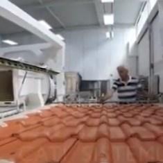 Braas Kiremit Rüzgar Tünelinde Test Ediliyor