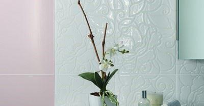 Seramik Duvar Karosu/Beyaz & Trend Koleksiyonu