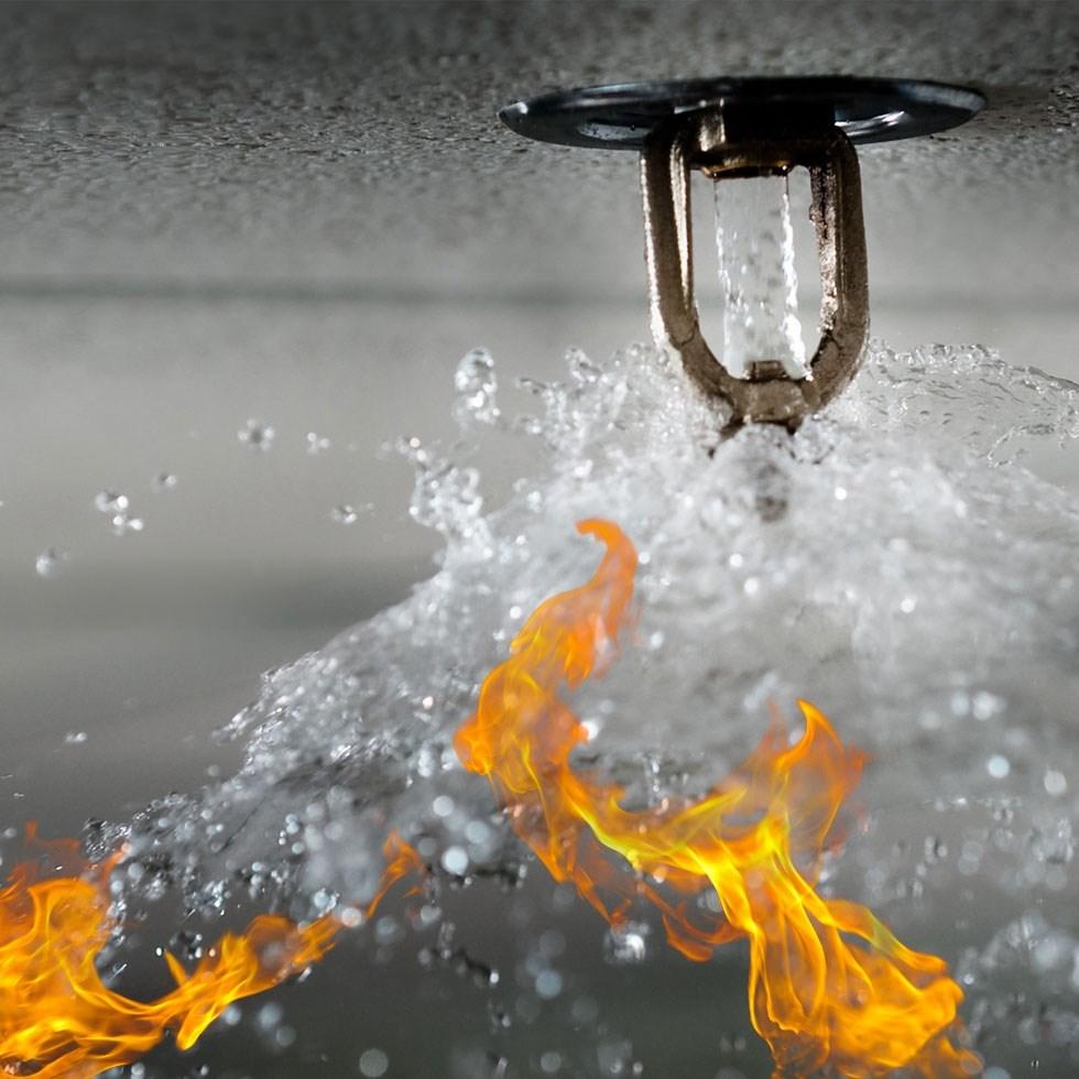 Sprinkler Fire Suppression System