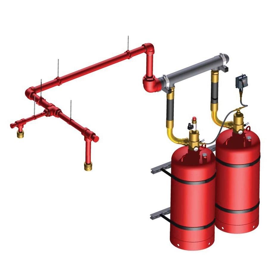 FM200 Gas Fire Extinguishing System - 0