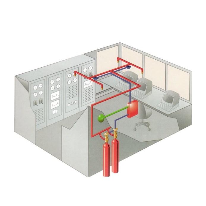 FM200 Gas Fire Extinguishing System - 2