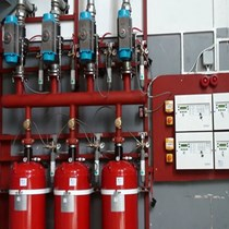 FM200 Gazlı Yangın Söndürme Sistemi