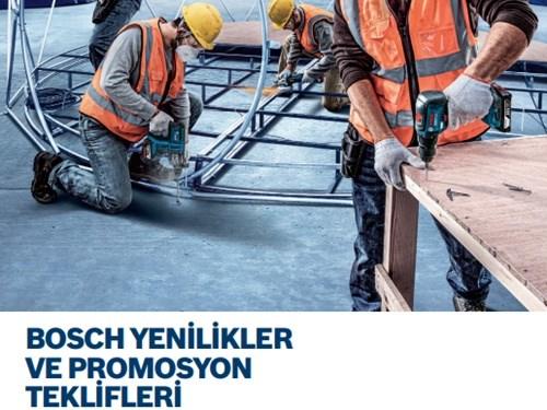 Bosch Yenilikler ve Promosyon Teklifleri Kataloğu