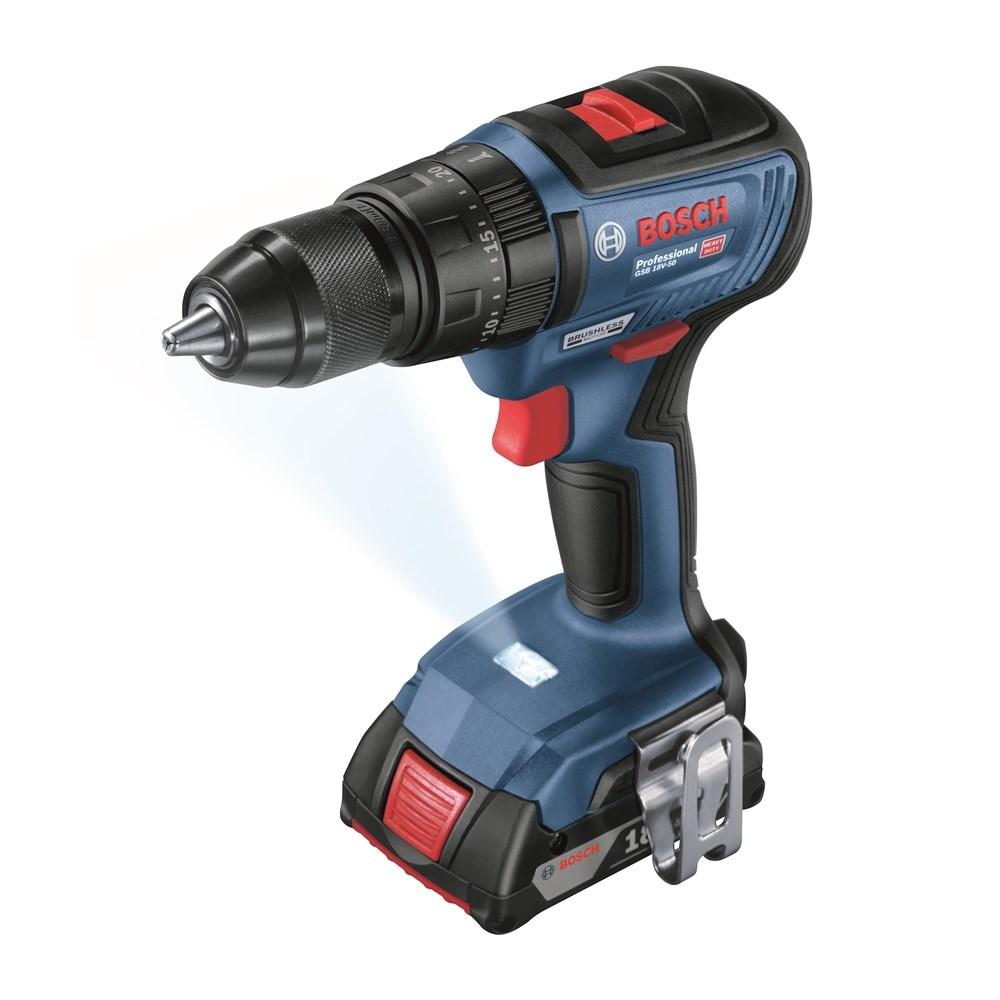 Power Tools | Drilling / Screwdriver GSB 18V-50