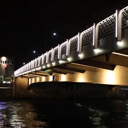 Fiberli Galata Köprüsü Işıklandırması
