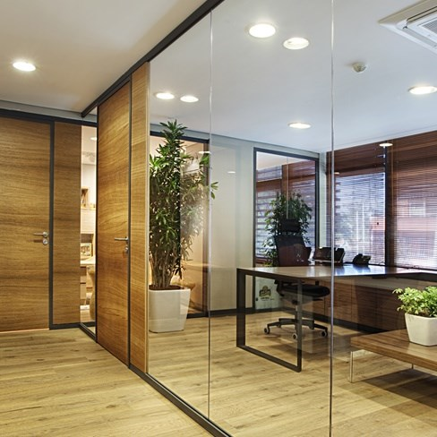 Partition Wall System | Archiglass50 - 1