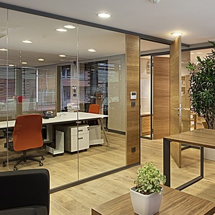 Partition Wall System | Archiglass50 - 3