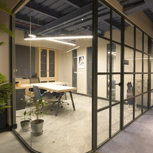 Partition Wall System | Archiglass50 - 7