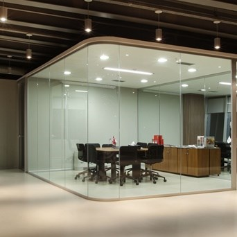 Partition Wall System | Archiglass50 - 12