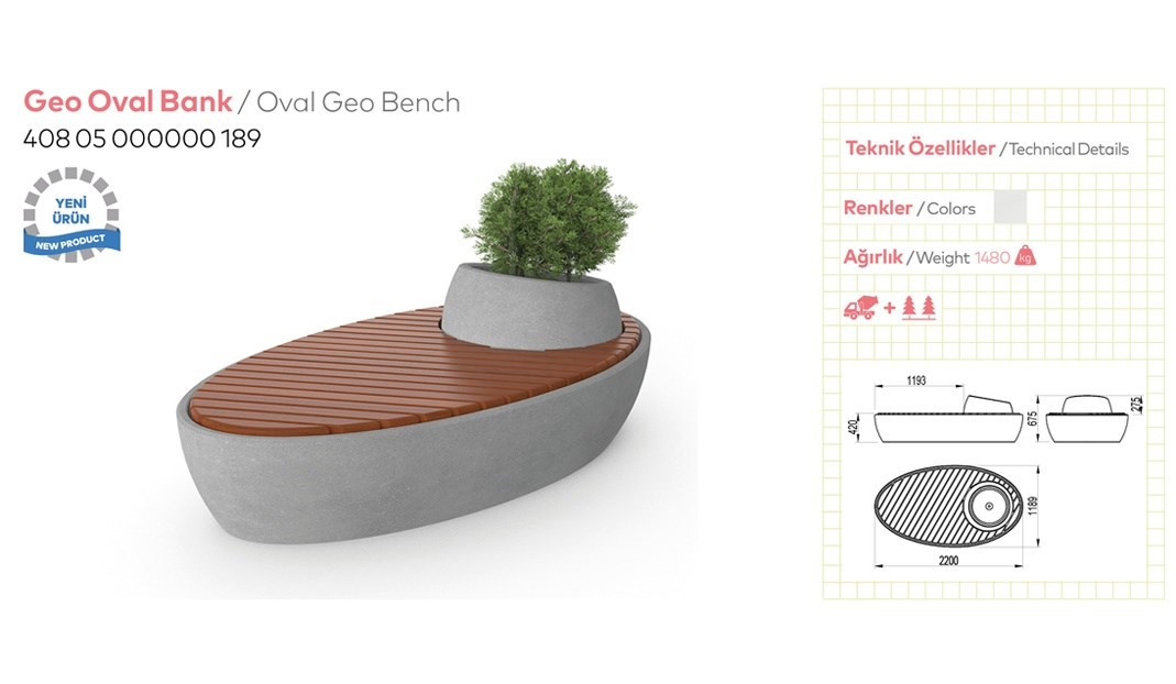 Benches with Backrest - 5