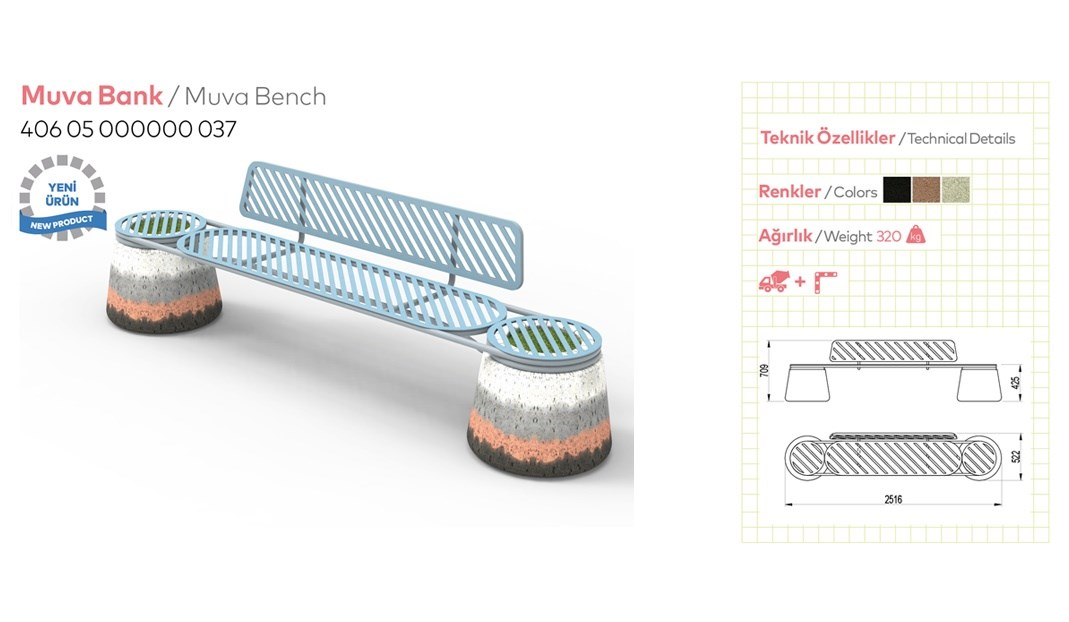 Benches with Backrest - 7