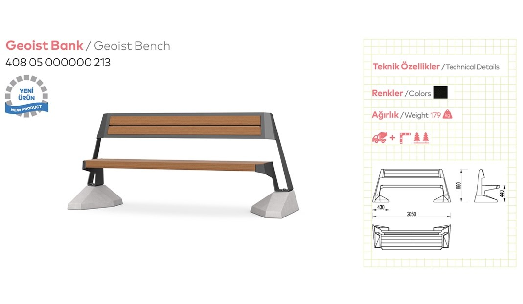Benches with Backrest - 9