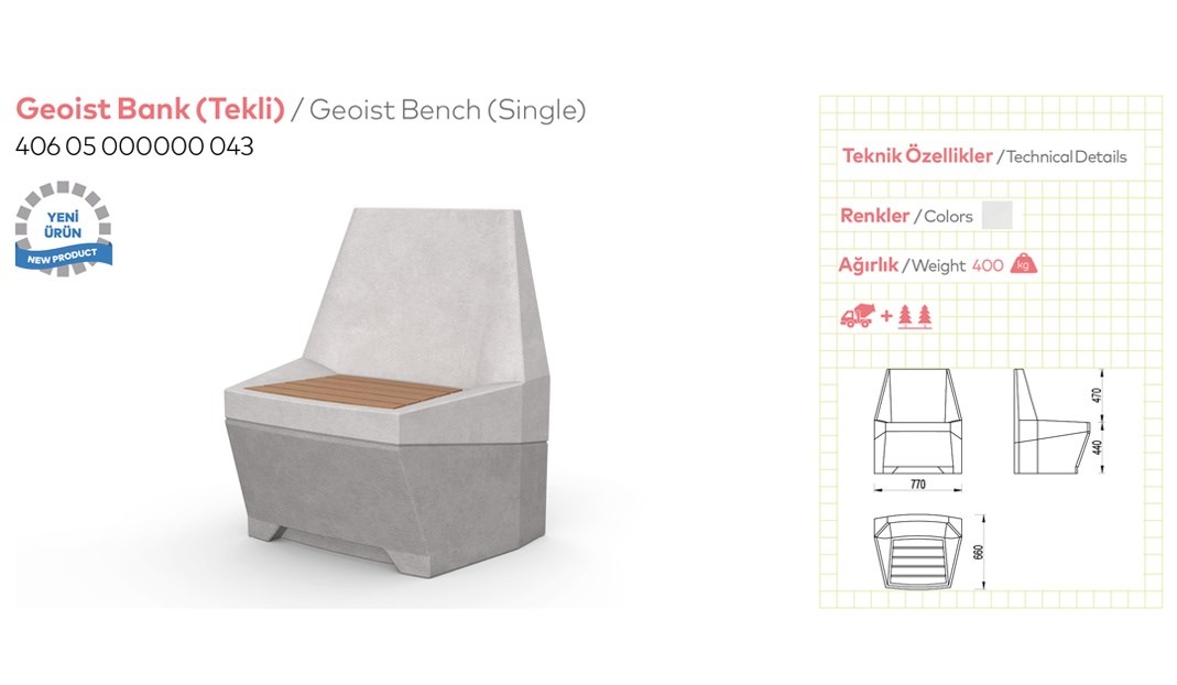 Benches with Backrest - 10