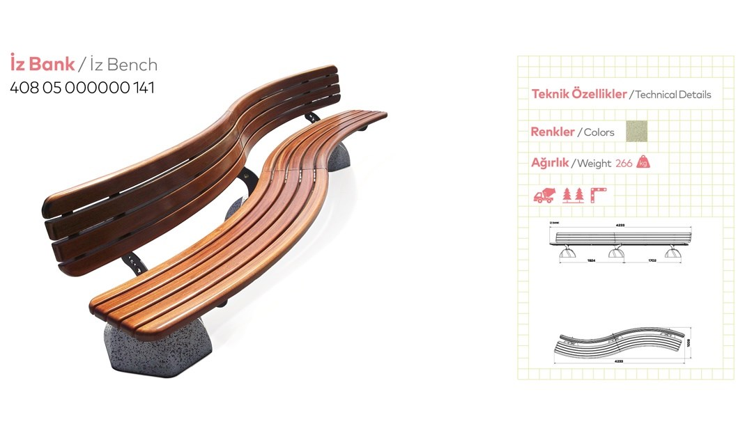 Benches with Backrest - 24