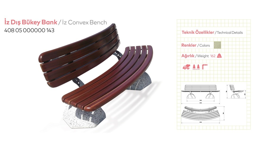 Benches with Backrest - 25