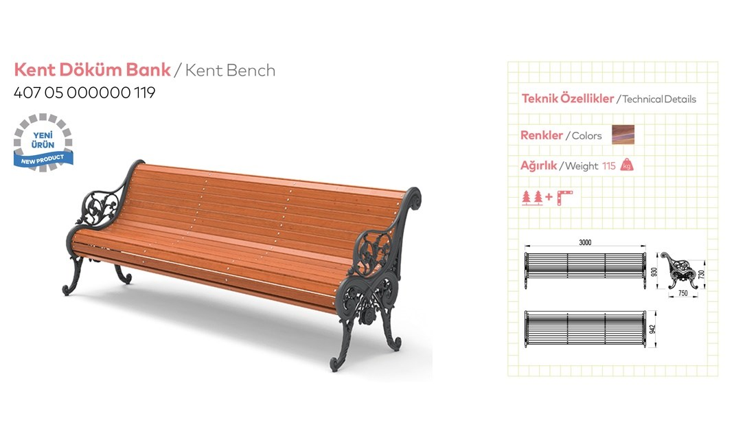 Casting and Metal Benches - 4