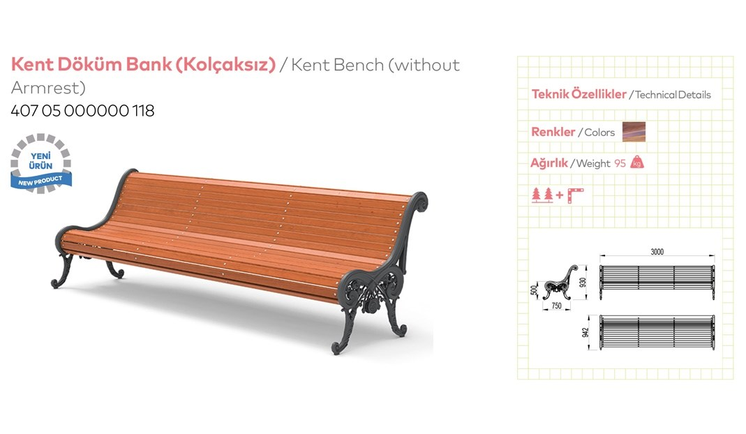 Casting and Metal Benches - 5