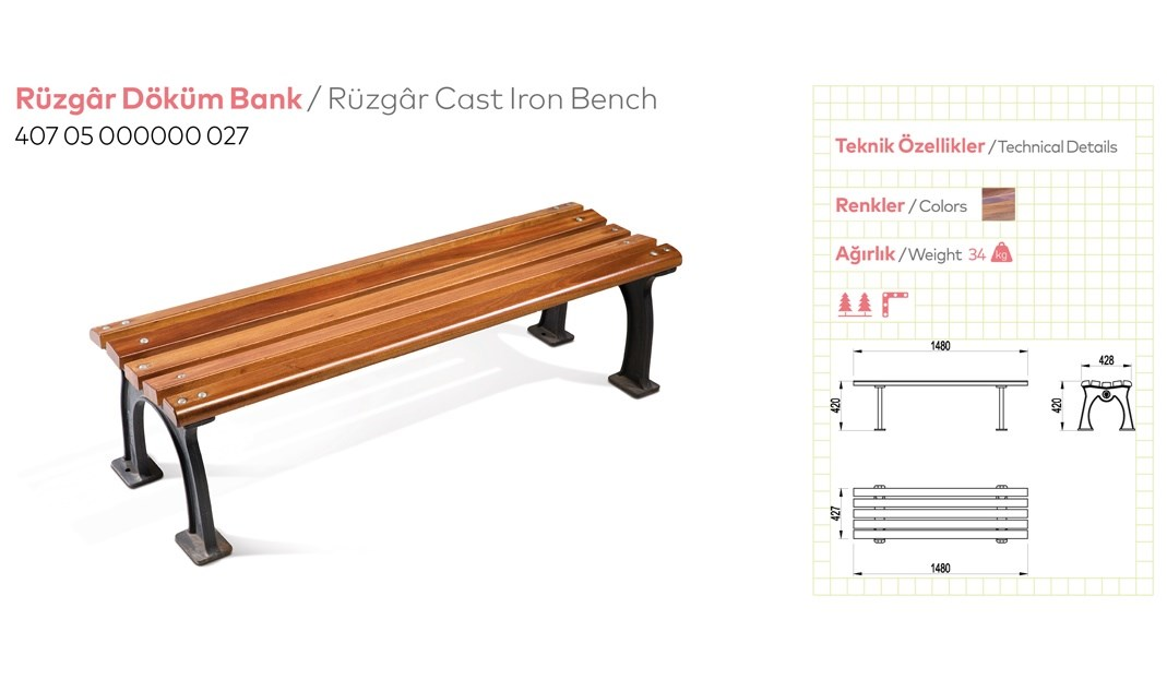 Casting and Metal Benches - 7