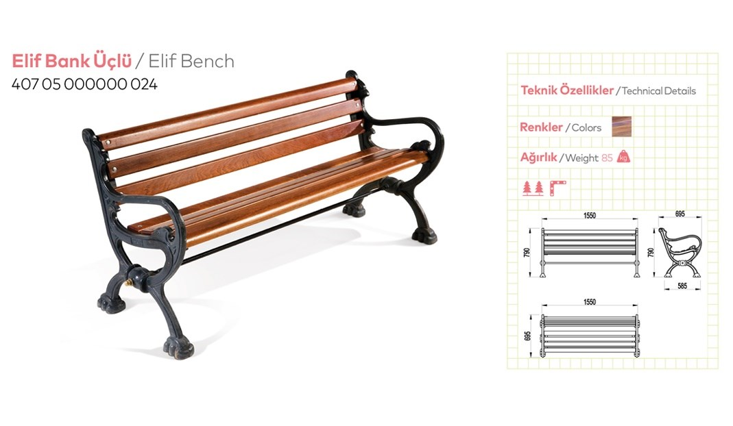 Casting and Metal Benches - 10