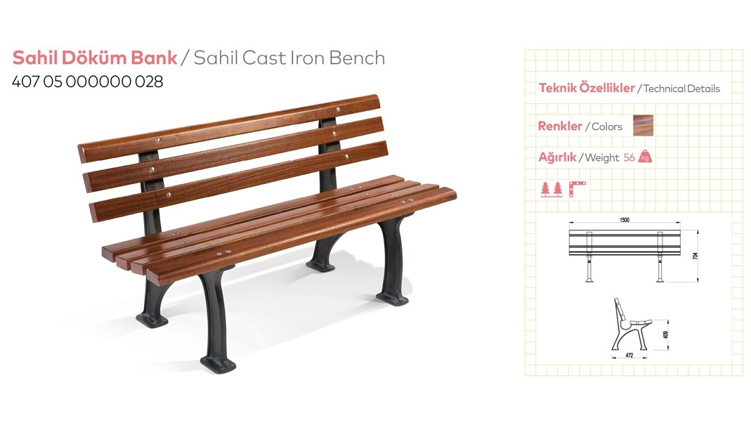 Casting and Metal Benches - 13