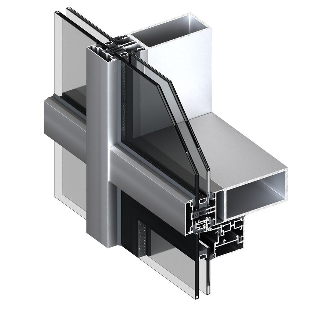 Alüminyum Giydirme Cephe Sistemleri | MN 50 L