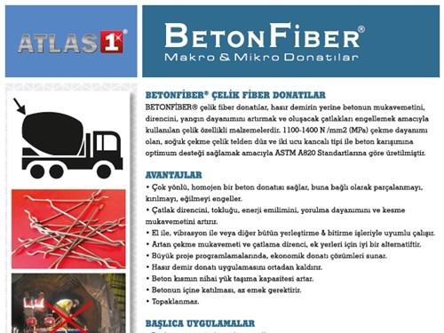 BETONFIBER HE - Çelik Tel Fiber Ürün Broşürü