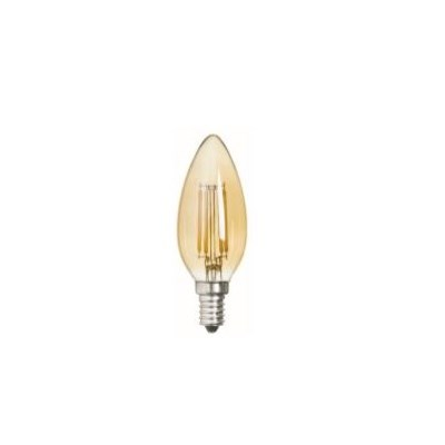 ToLEDo Retro Candle 420LM 825 E14 GOLD