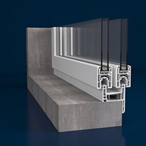 PVC Sürme Kapı ve Pencere Sistemi