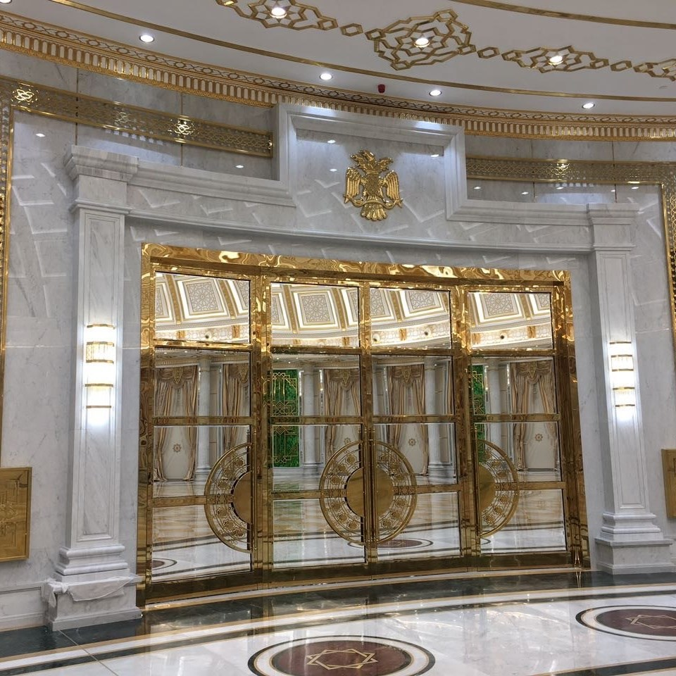 Bronze Doors and Partitions