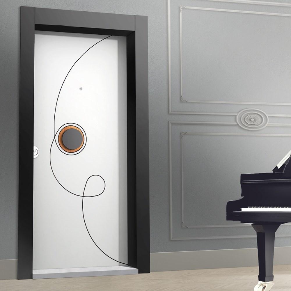 Steel Door | Line Series POINT