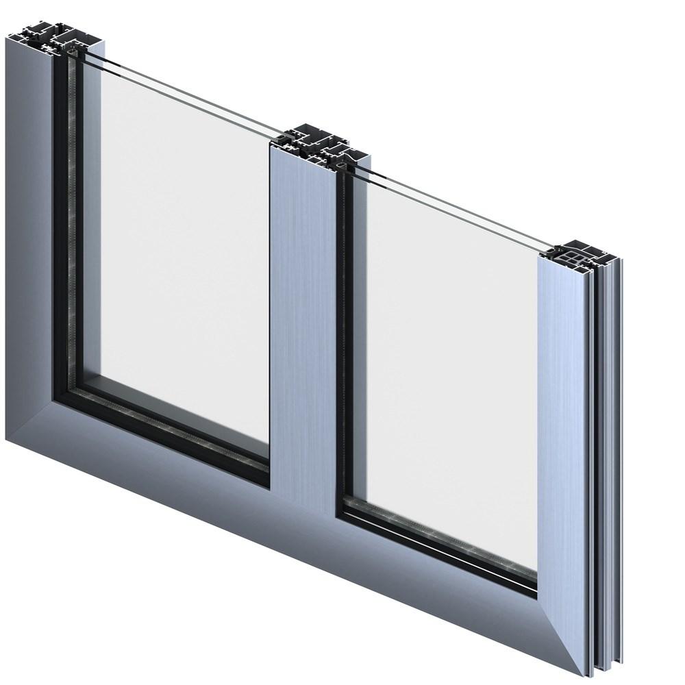 Alüminyum Kapı ve Pencere Sistemleri   ST 60 CV - 1