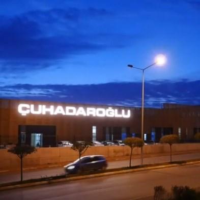 Çuhadaroğlu Aluminium Factory Timelapse