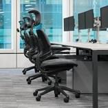 Freedom Headrest Ergonomic Study Chair - 3