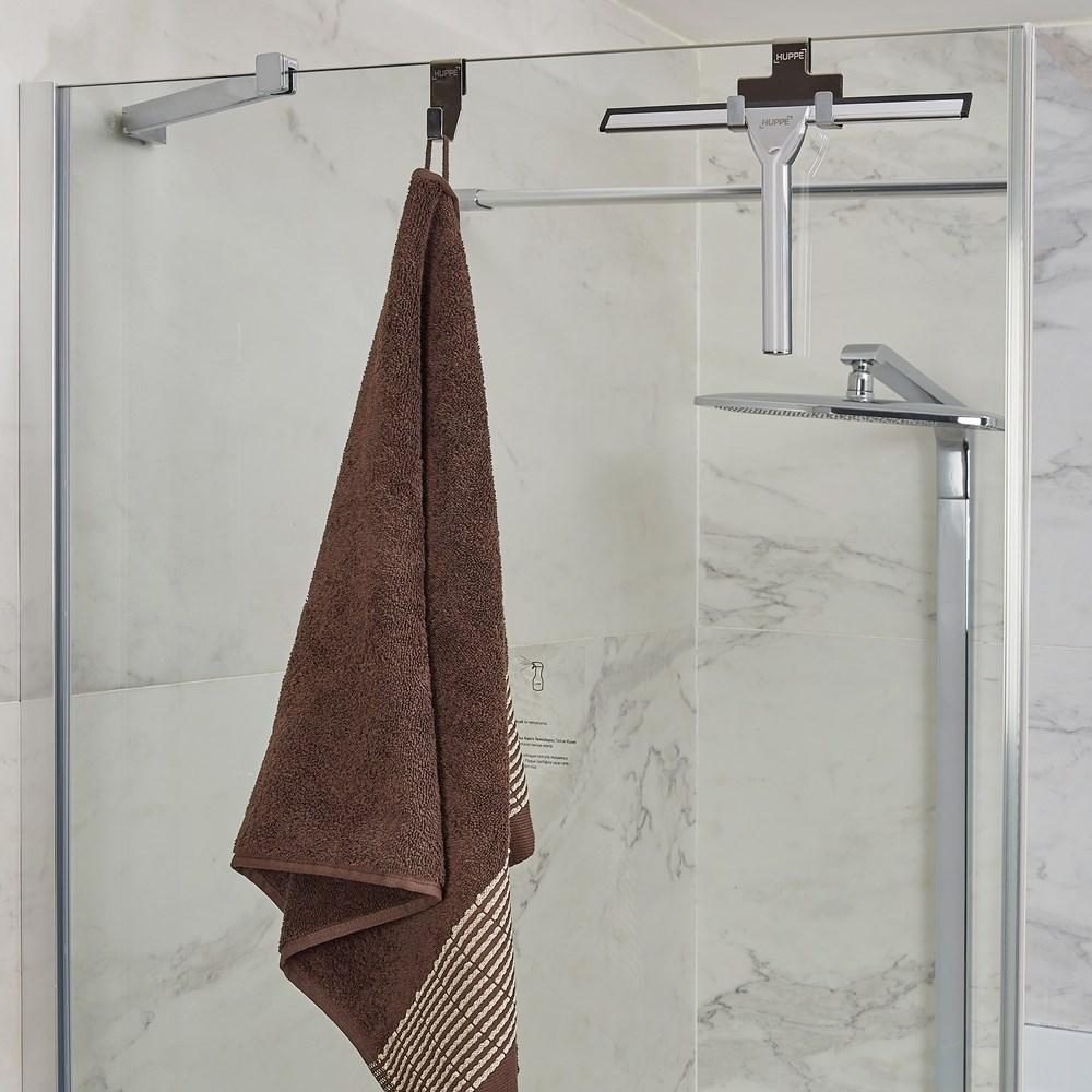 Towel Rack and Squeegee Set
