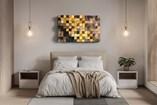 Art   Pixel Flow - Brown to Yellow - 0