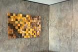 Art   Pixel Flow - Brown to Yellow - 1