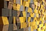 Art   Pixel Flow - Brown to Yellow - 3