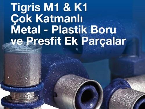 Tigris Metal - Plastik Boru ve Ek Parçalar Kataloğu