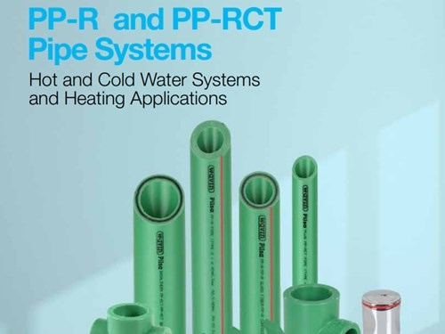 PP-R and PP-RCT Pipe Systems Catalog