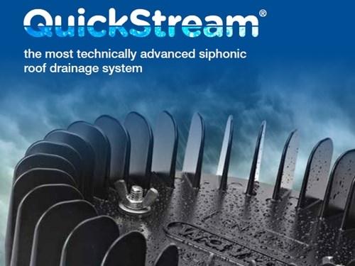QuickStream Roof Drainage System Catalog