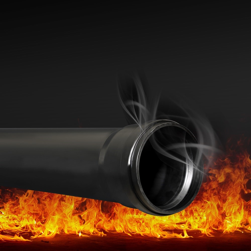 SiTech B1 Low Flammable Silent Pipe
