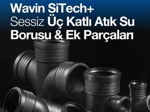SiTech+ Atık Su Borusu & Ek Parçaları Kataloğu