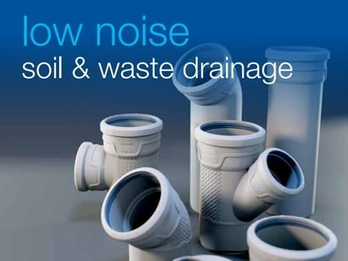 Wavin AS+ Low Noise Soil & Waste Drainage Catalog