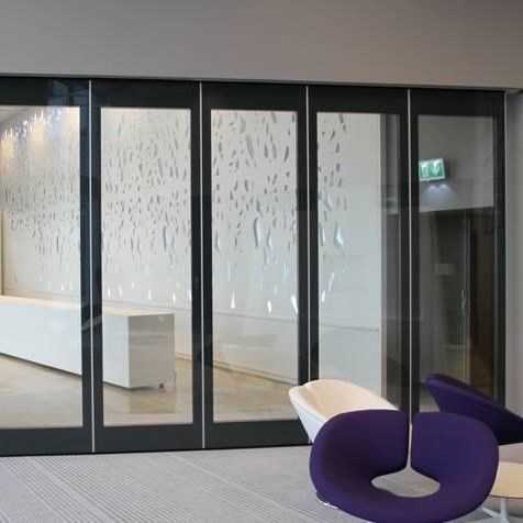 Double Glass Acoustic Movable Partition Wall